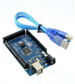 ARDUINO MEGA 2560 R3 BOARD with USB CABLE- Made in Italy