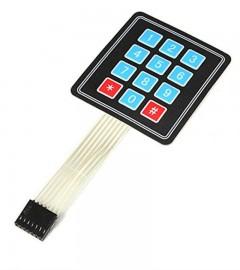 4*3 Matrix Keypad Membrane Switch