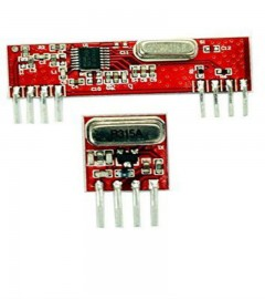 RF ASK module Wireless Transmitter + Receiver Pair 433 / 434 MHz