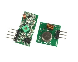 433Mhz RF Transmitter and Receiver Module Link Kit